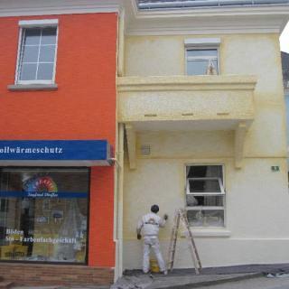 Filiale Steinakirchen - Fassade Malerei